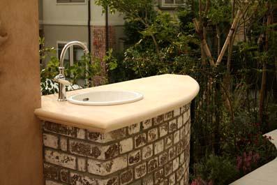 オリジナルのガーデン水洗のデザイン