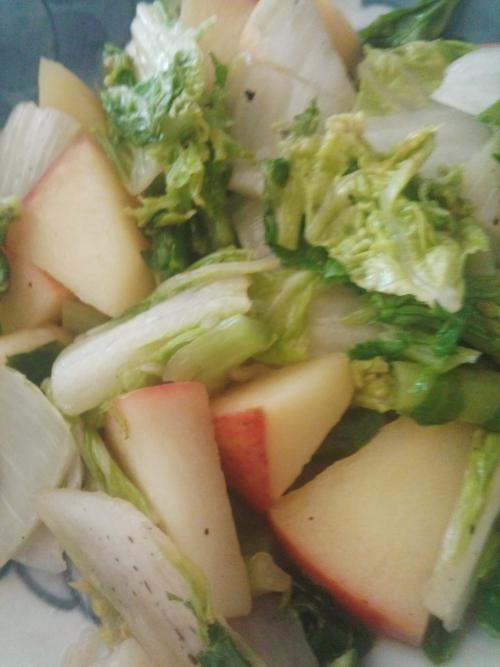食べ物で健康リンゴ