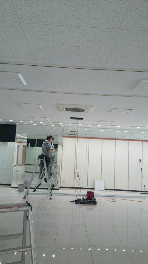 世田谷区で改装工事の美装