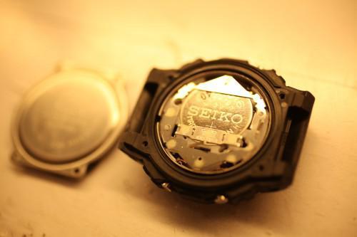 G-SHOCK の電池交換 即日お渡し可能です。