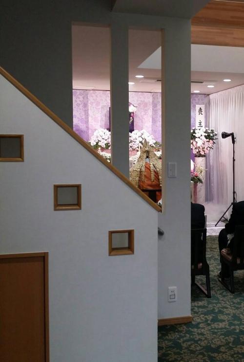 足立区 谷塚斎場にて家族葬の司会業務です