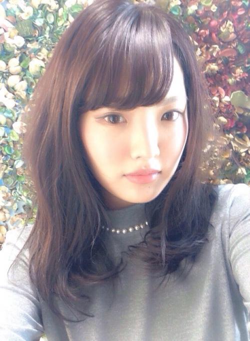 モテ髪 ひし形ミディ
