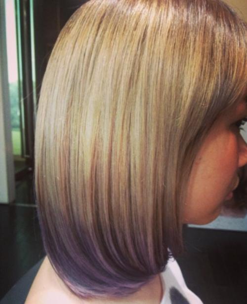 グラデーションカラーやブリーチヘアに対応する縮毛矯正