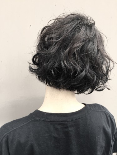 秋髪*ショートボブ