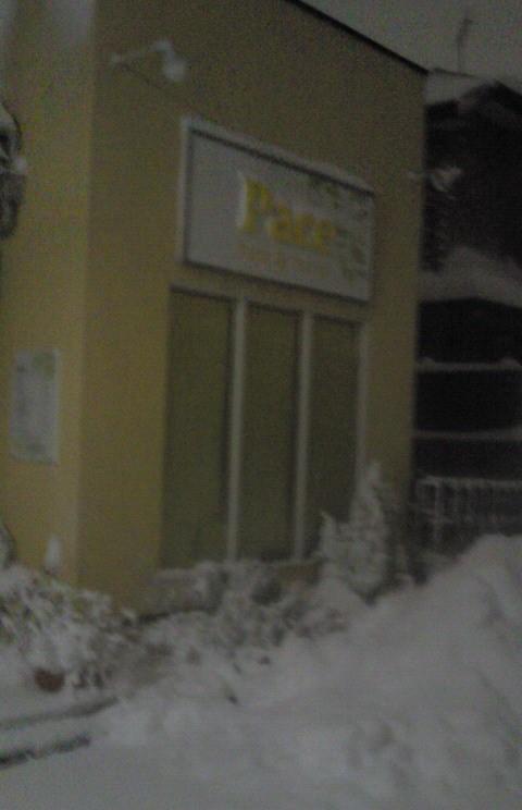 すごい雪〜〜。