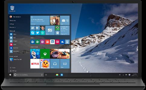 windows10にバージョンアップしました