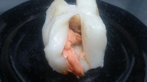 簡単で美味しい鮭を使ったもち料理