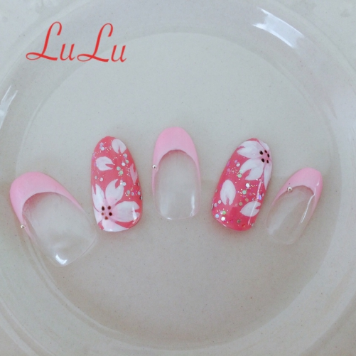 春気分の桜ネイル☆ピンク