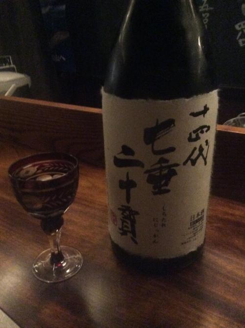 日本酒、黒ビール