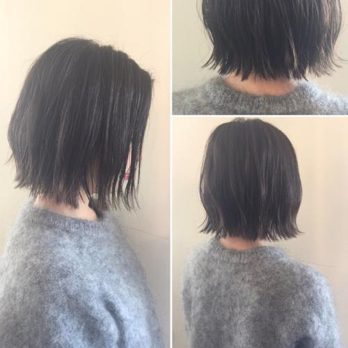 湿気が多くても崩れにくい☆多毛、硬毛でもできるボブスタイル!