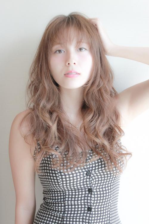 色気可愛いふんわり夏ウェーブ(デジキュア)スモキーカラー☆