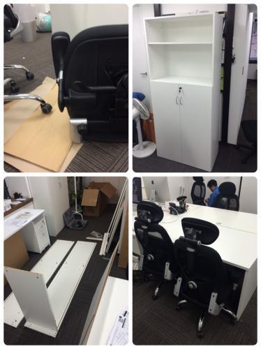 東京都、渋谷区にて安心安価の家具組立、日曜大工