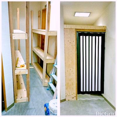陶芸教室 東京 国立けんぼう窯 ロビー横に粘土保管庫が完成