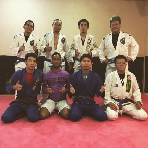 土曜昼のブラジリアン柔術クラスは盛況!!