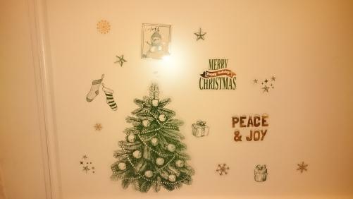 ちょっとずつクリスマス?