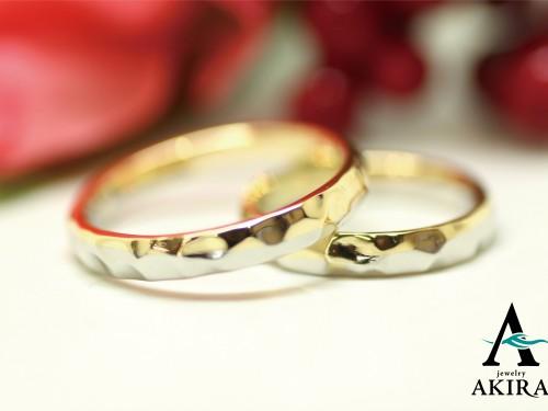 結婚指輪コンビリングのオーダーメイド