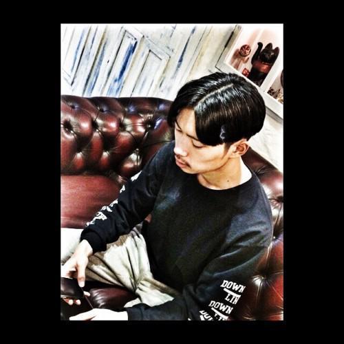 メンズヘア 刈り上げ barber tattoo