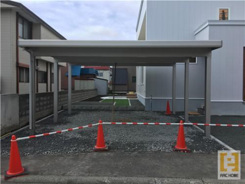 ☆新築戸建物件☆札幌市建築中現場情報を更新!カーポート工事♪