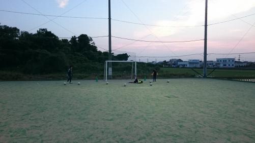 サッカースクール ゴールキーパー