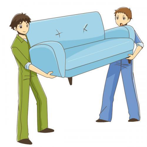 お荷物(家具)の往復移動のご依頼を頂きました!
