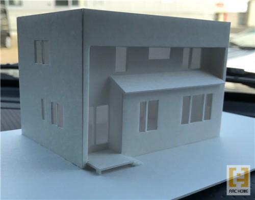 新築デザイナーズ住宅!模型づくりも大切な仕事です!
