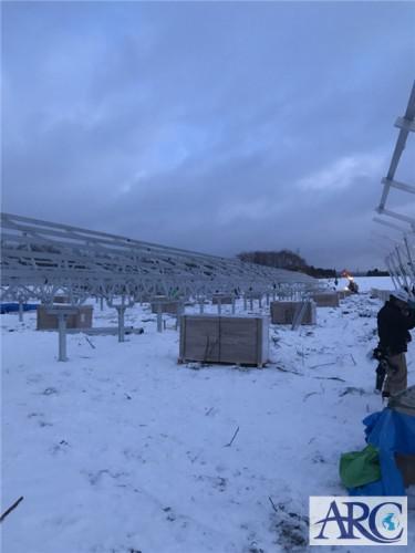 冬の北海道でも太陽光発電設置工事はできるのか??