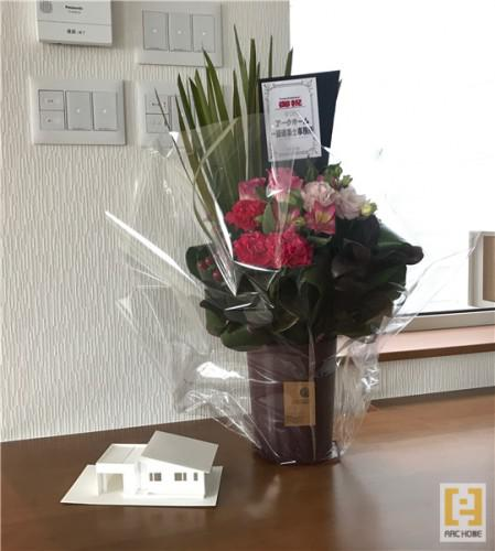 北海道札幌市で新築デザイナーズ住宅☆祝☆お引渡し☆