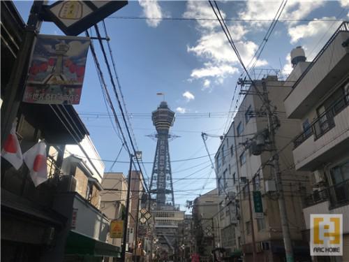 久しぶり!大阪人気スポット!天王寺新世界の通天閣!