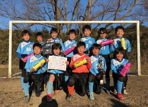 U-10水戸市少年サッカーチャレンジカップ優勝!
