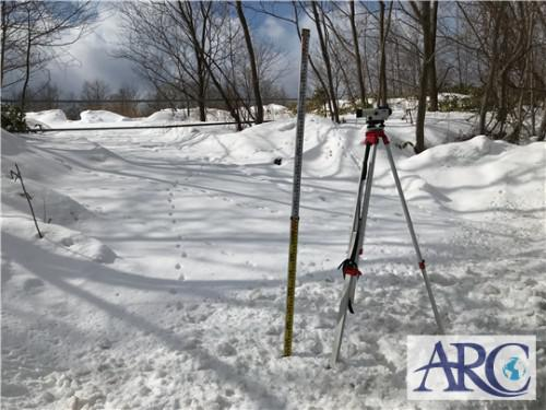 北海道登別市で産業用低圧太陽光発電用土地の視察・測量