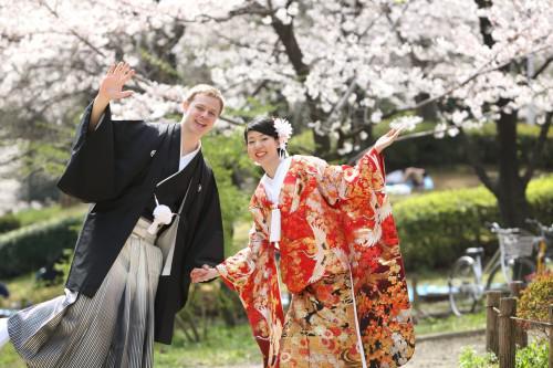 隅田川の桜をバックに結婚写真!撮影日程のご案内