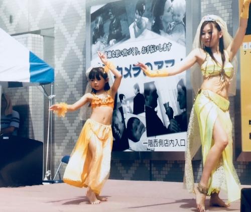 ベリーダンス キッズクラス、ユメリアで始まるよ!
