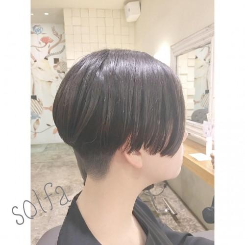 お客様のヘアスタイル