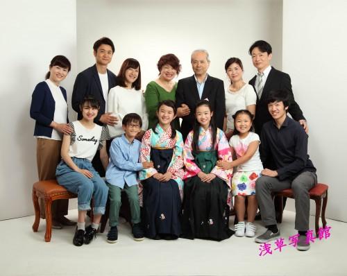 浅草で家族が集う記念写真を残しませんか!