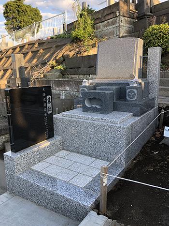 久保山新規墓地「I」様完成です。