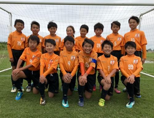 茨城県学年別少年サッカー大会低学年の部 6年連続出場!!