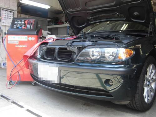 BMW E46 VWシャラン S15エアコンガスクリーニング