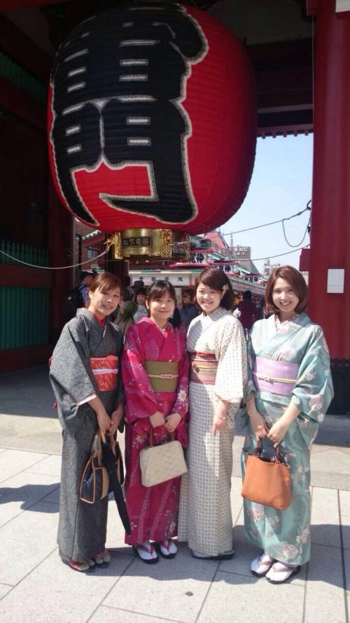 臨時休業☆女子会で浅草満喫してきました