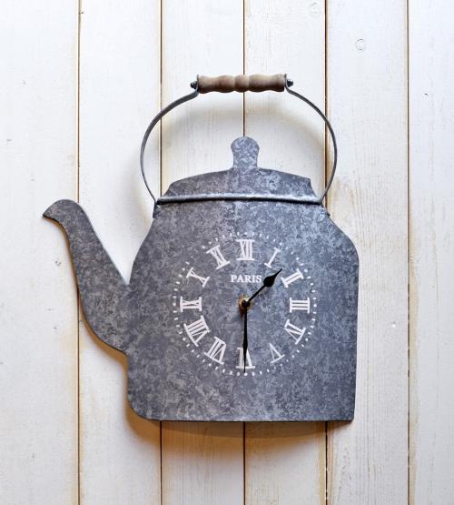 人気のティーポット型壁掛け時計再入荷!