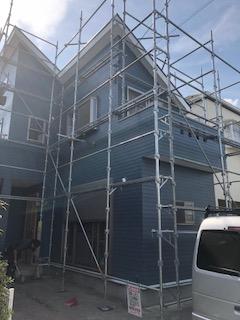日高市でサイディング・シリコン塗料で施工しました