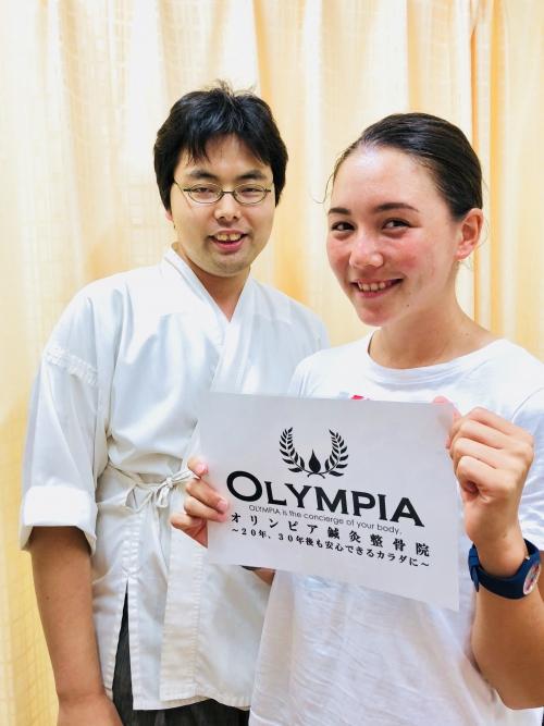日本代表ヘンプヒル恵選手、アジア大会へ出発!!