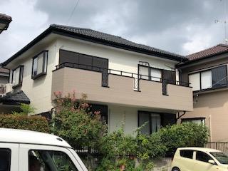 東松山市で外壁塗装工事が完了致しました