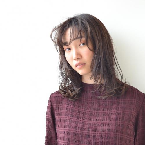 ミディアムウェットヘア〜フロント編☆