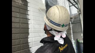 坂戸市にて外壁の下塗り工事をしてきました