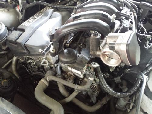 BMW E46クランクセンサー交換