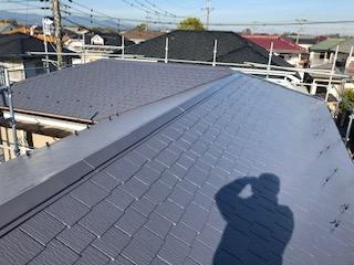 坂戸市で屋根の遮熱塗装工事が完了致しました