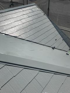 日高市で屋根塗装工事が完了致しました