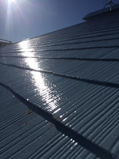 日高市でコロニアル屋根の塗装工事を施工しました
