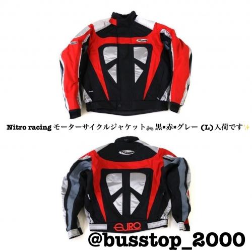 Nitro racing モーターサイクルジャケット入荷です