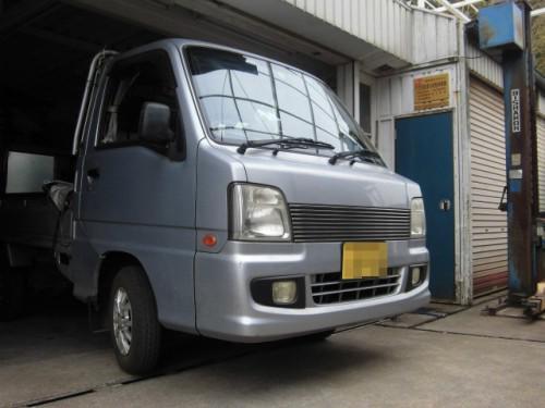 TT2サンバー車検と手強いオイル漏れ修理とATF交換